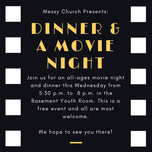Dinner and a movie?